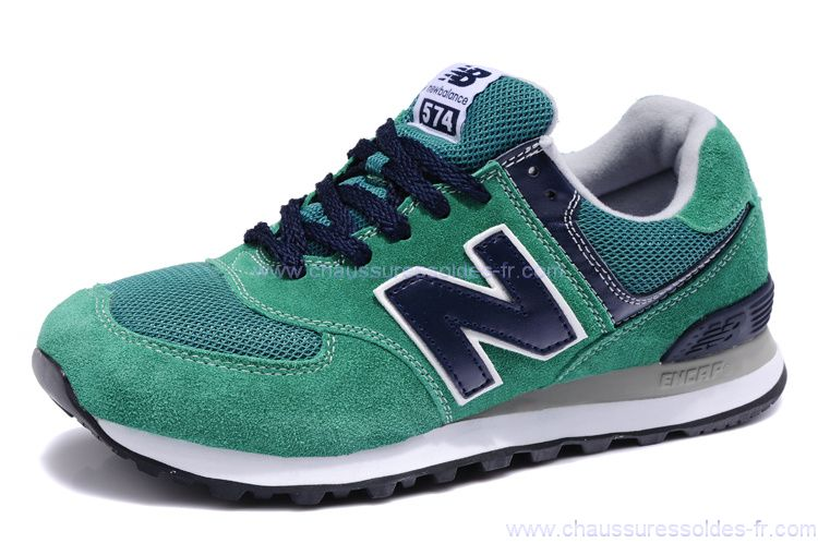 Chaussures New Balance M990 vertes homme