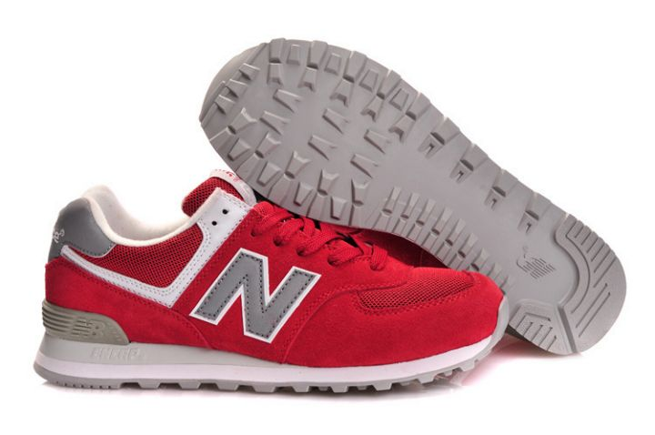 new balance rouge et grise