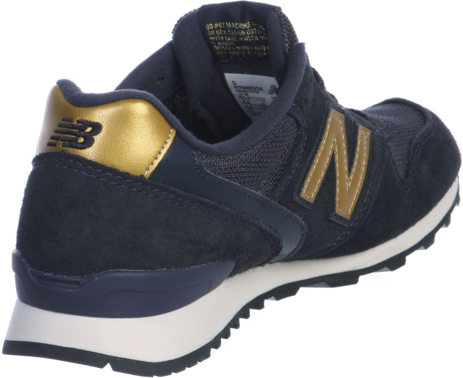 new balance bleu et or 996
