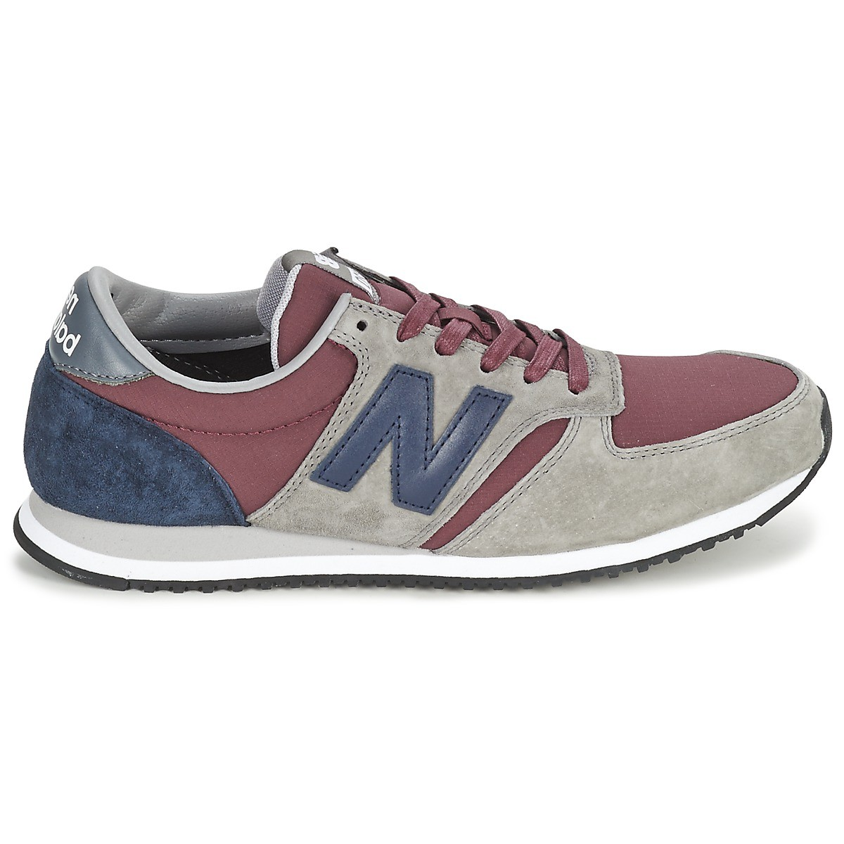 new balance grise et bordeau