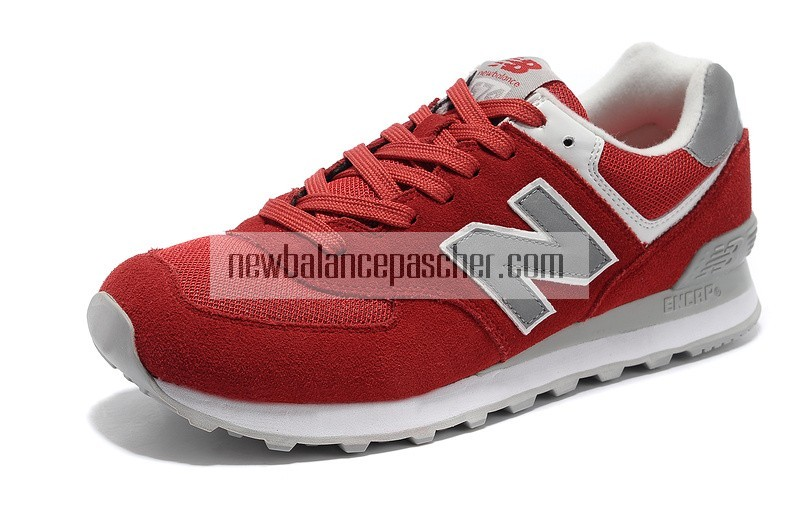 new balance grise et rouge