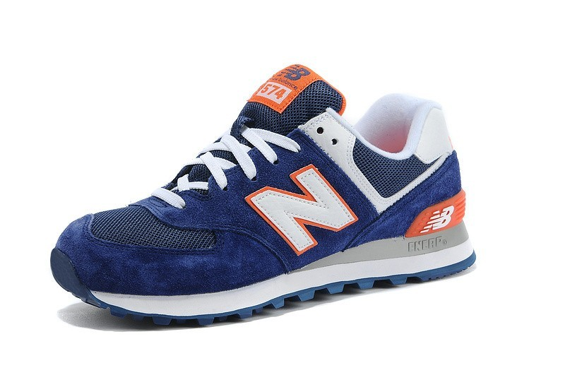 new balance homme bleu et orange