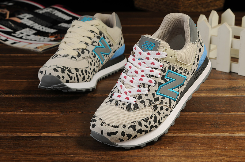 new balance leopardo gris