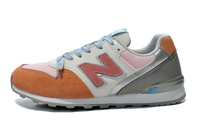 new balance rose et orange