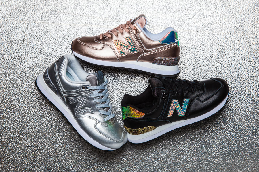 new balance rose gold glitter punk