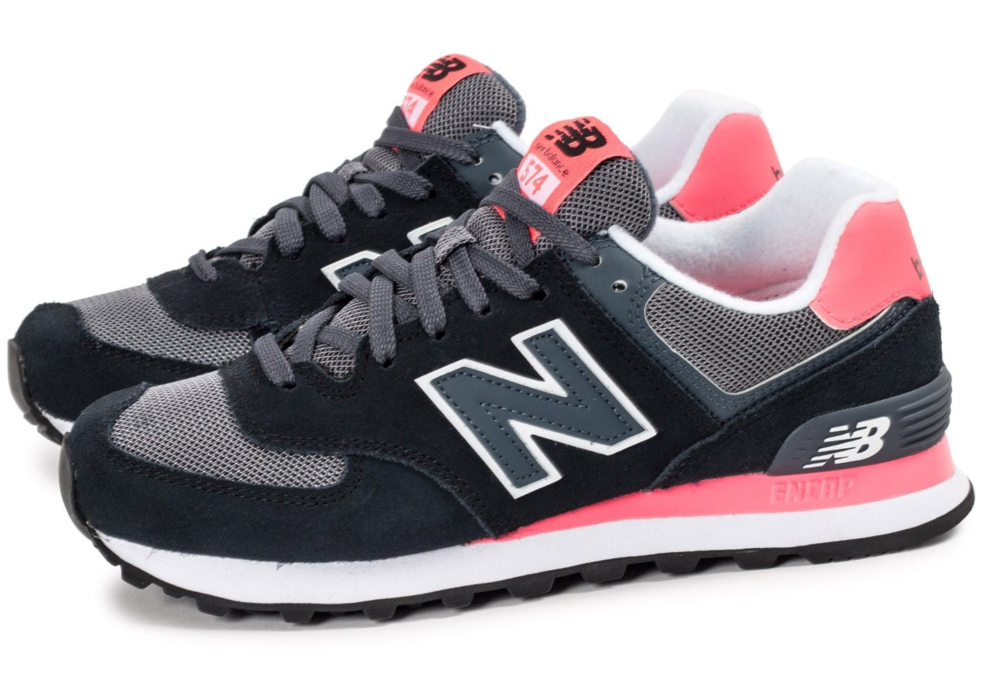 new balance wl574 rose noir